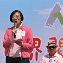 Prof. Sophia Chan, JP, Under Secretary for Food and Health at the opening ceremony.